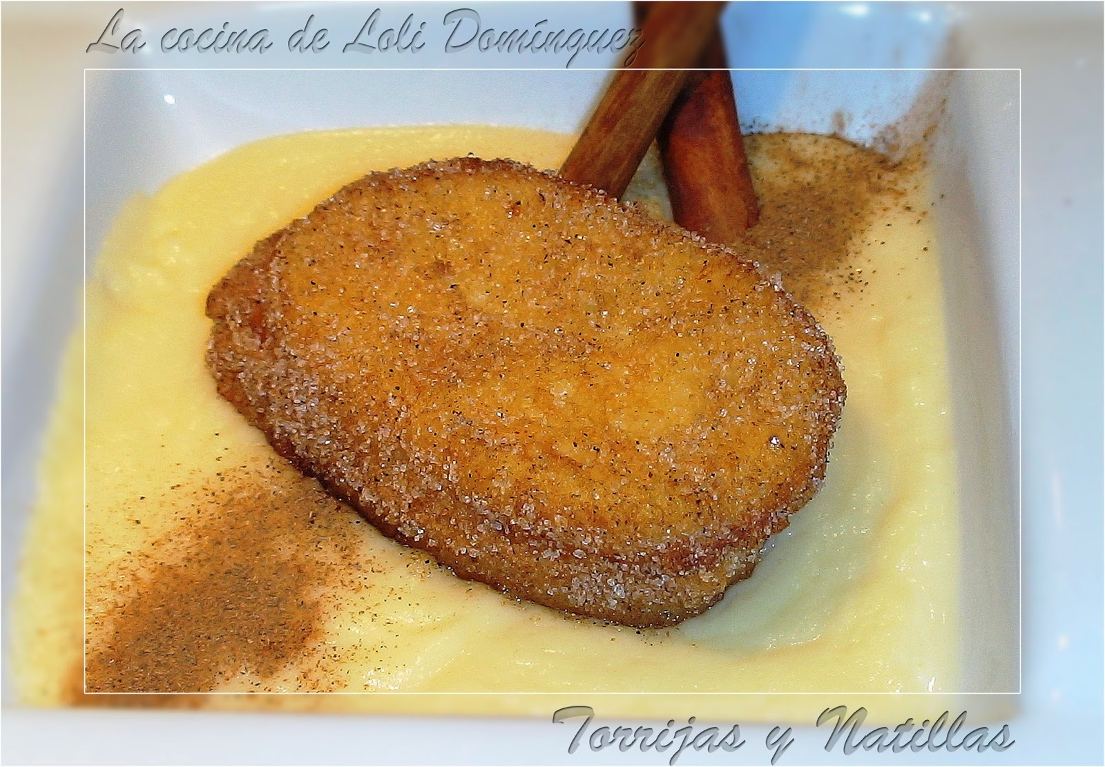 Torrijas y Natillas