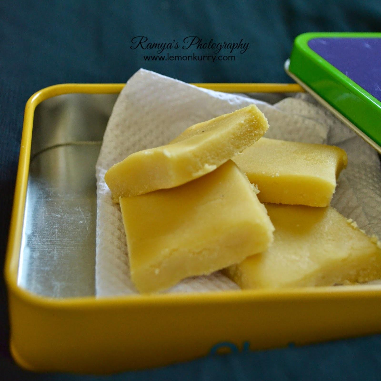 ghee mysore pak - soft mysore pak recipe
