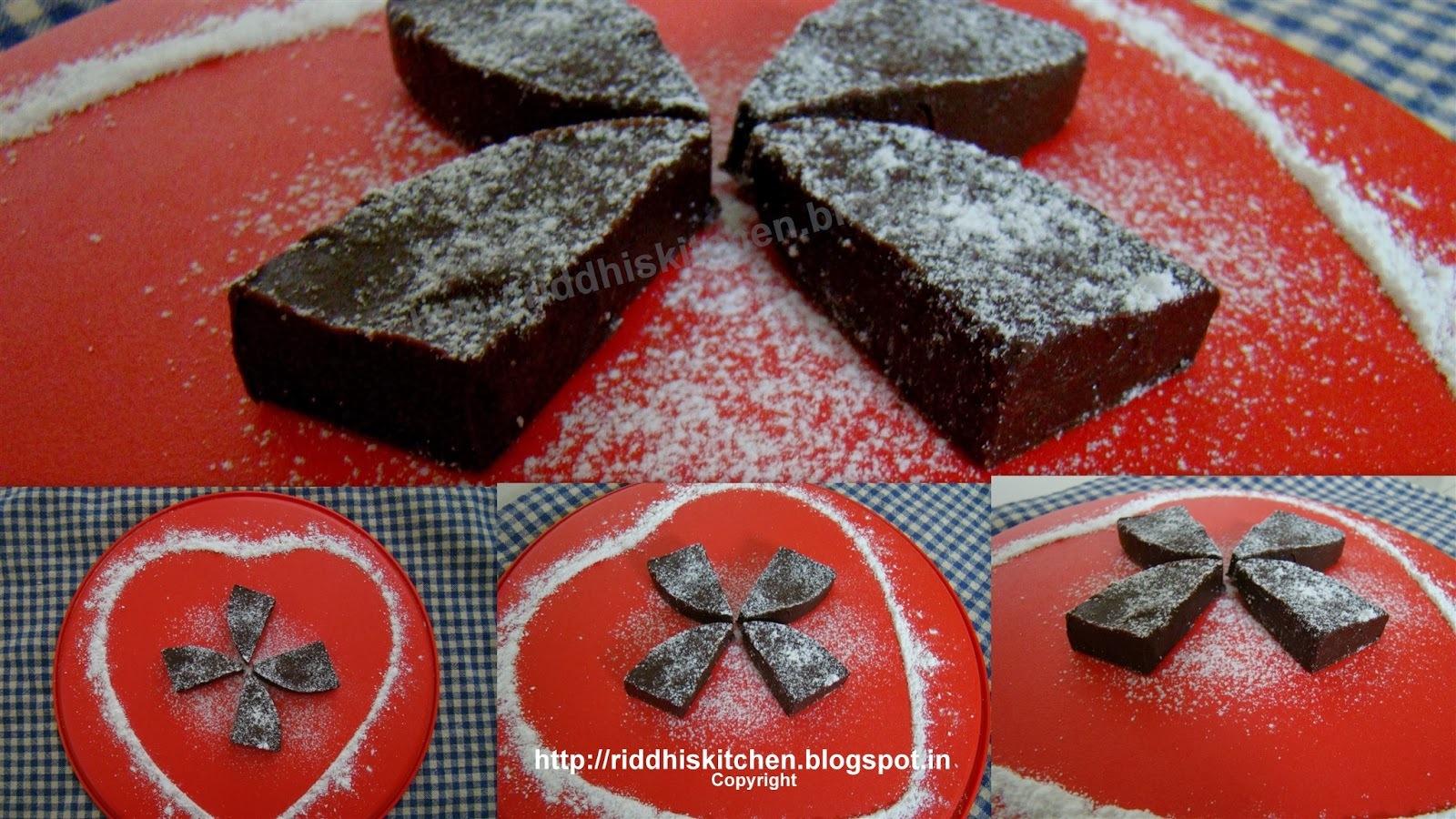 Chocolate Fudge  (A very easy way of making chocolate fudge.)