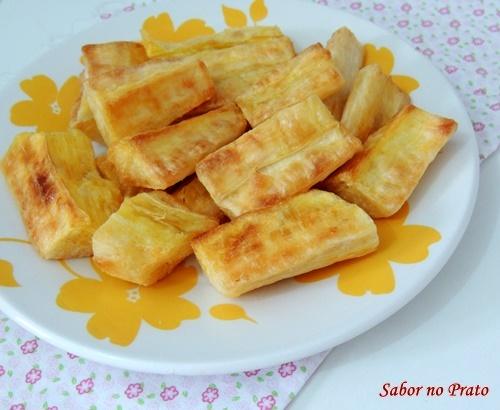 Mandioca Frita na AirFryer - Fritadeira sem Óleo