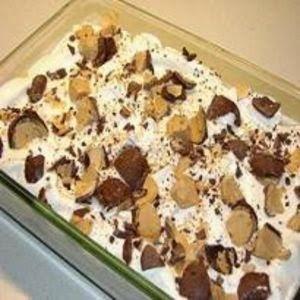 pave de bombom com biscoito maizena