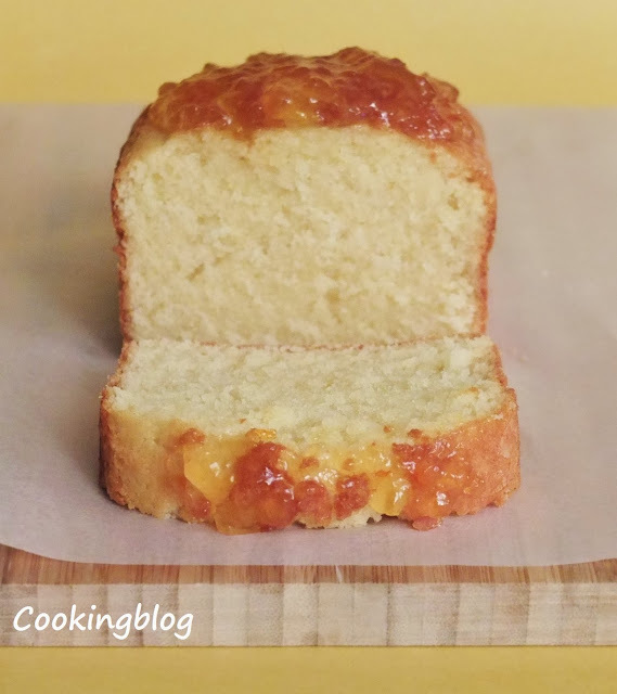 Bolo de fécula de batata | Potato starch cake
