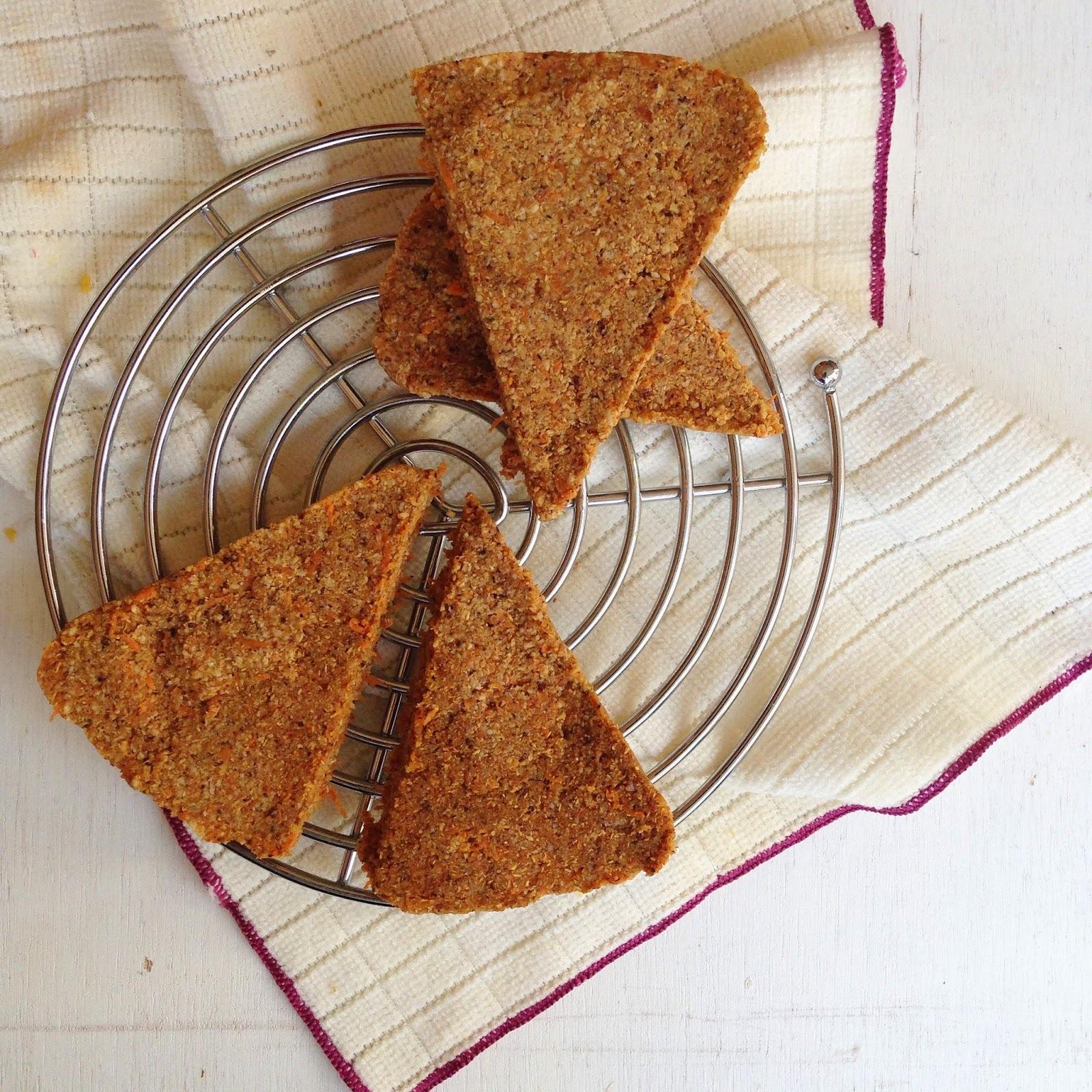 Semana de la torta: Carrot cake crudivegano
