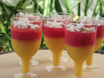 gelatina de abacaxi com abacaxi sem creme de leite
