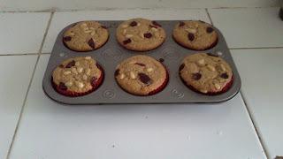 cupcakes con harina de amaranto