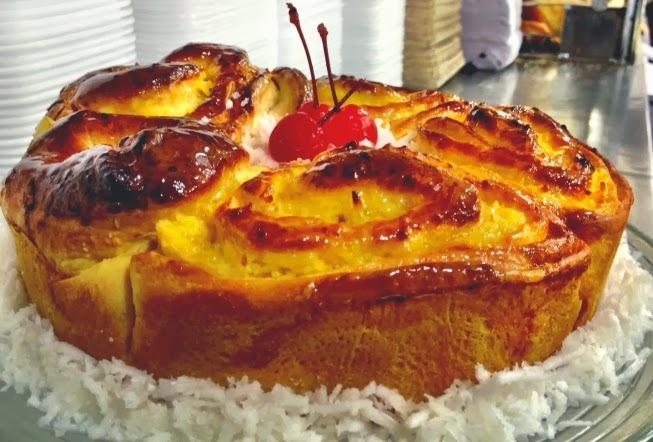 Rosca Doce de Padaria