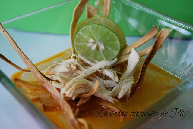 Sopa de Lima de la blanca Mérida y henequén