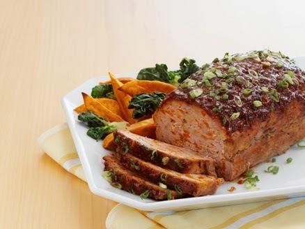 Pão de Carne com Linguiça de Frango
