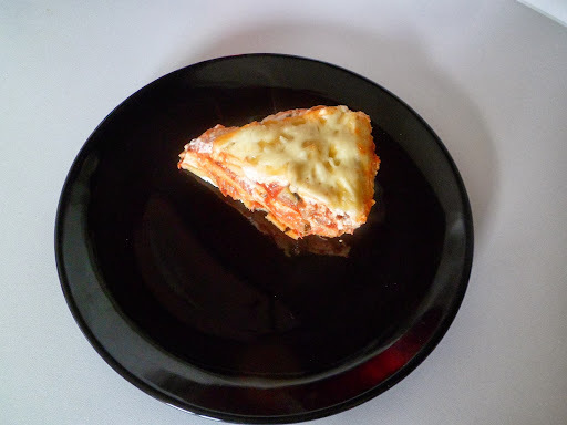 Domácí lasagne s cuketou