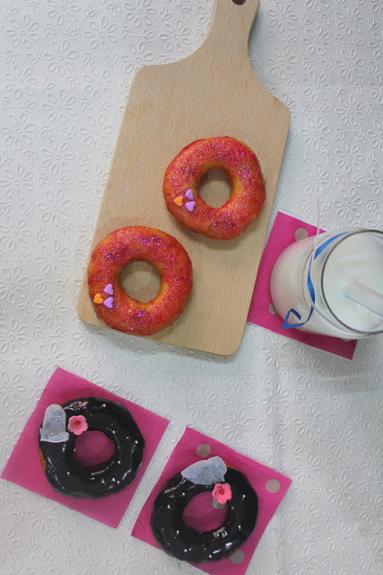 Eggless Donuts for Eggless Baker's Group
