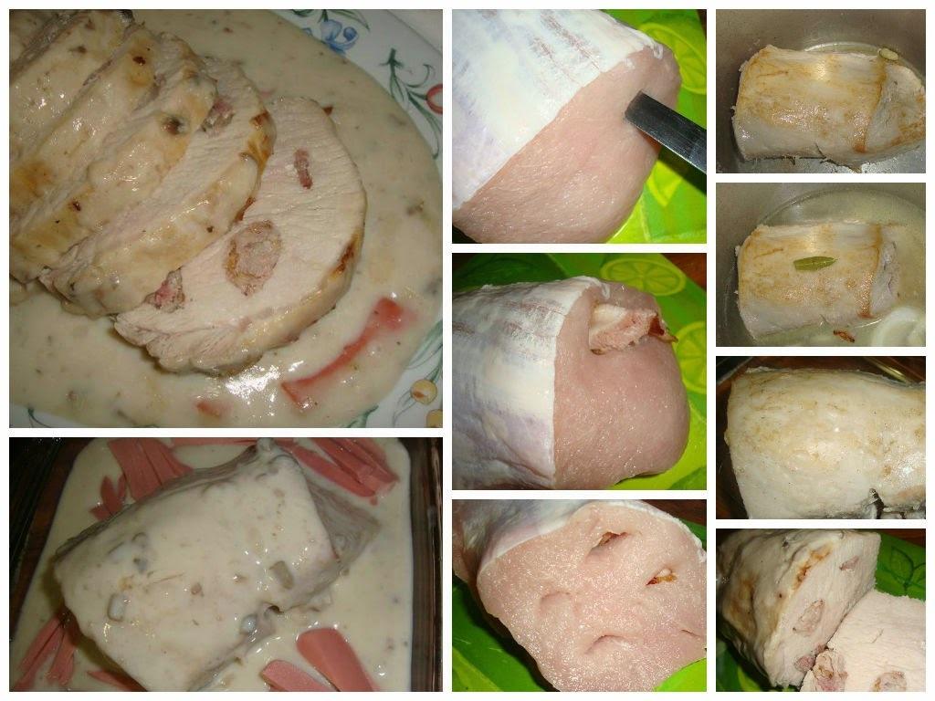 Lomo de Cerdo en Salsa de Champiñones