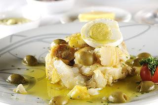 Bacalhau em Lascas com Batatas e Ovos