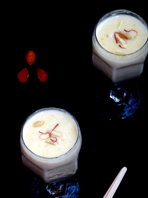 Badam  Kheer | Almond Pudding