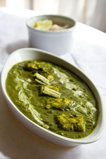 Palak Paneer | Punjabi Green Subji Palak Paneer Recipe