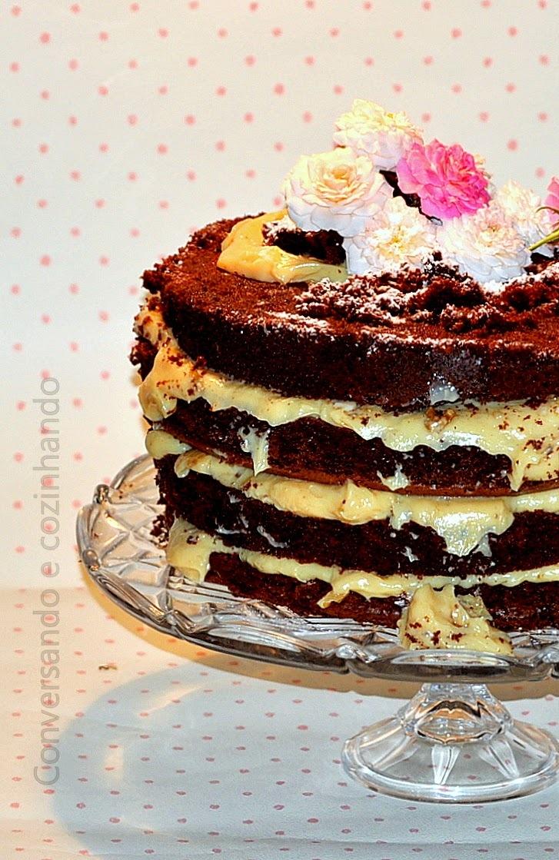 Naked cake, o meu bolo de aniversário