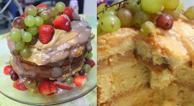 Naked Cake - Bolo Pelado