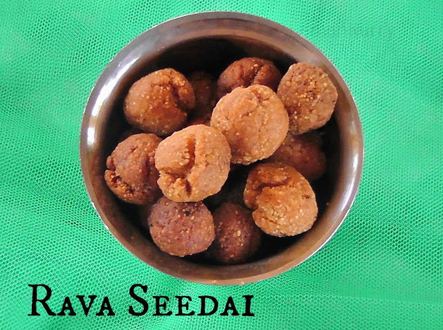 Rava Seedai | South Indian Snack