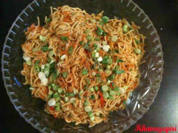 Veggi Schezwan Noodles