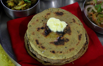Aaloo Bajra Roti & Besan Roti for ICC