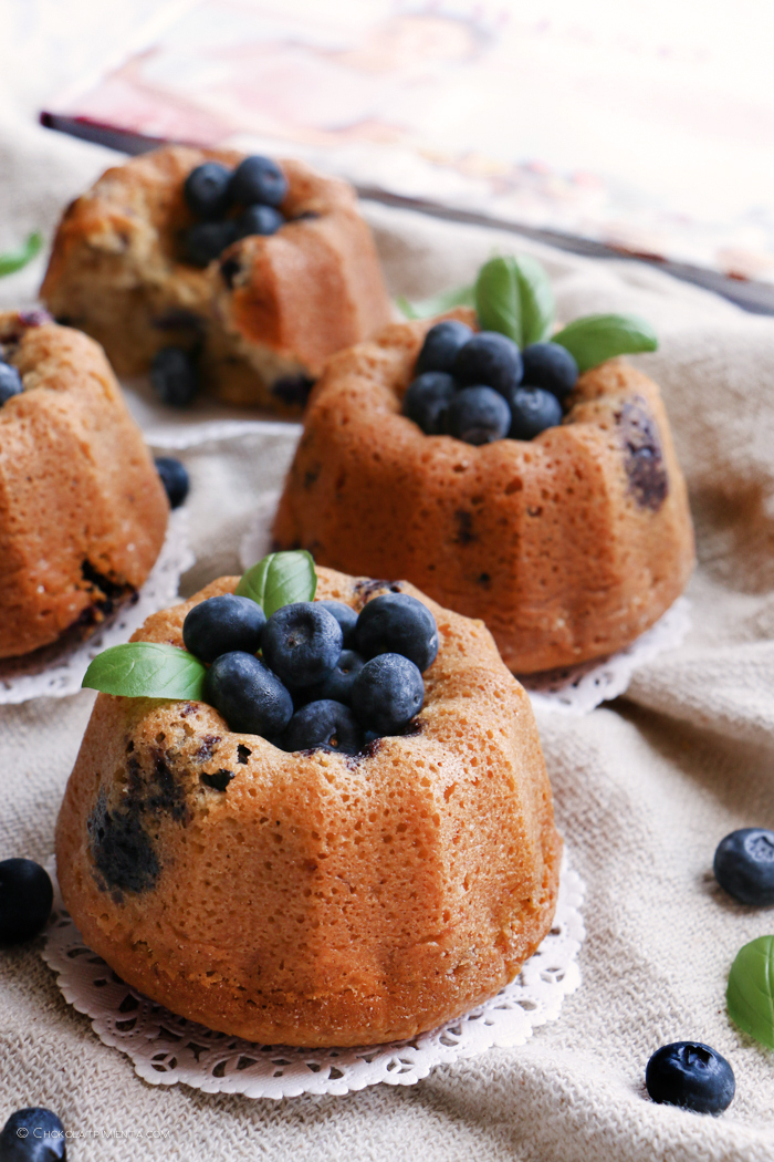 Pastelitos de Blueberry y Avena sin gluten
