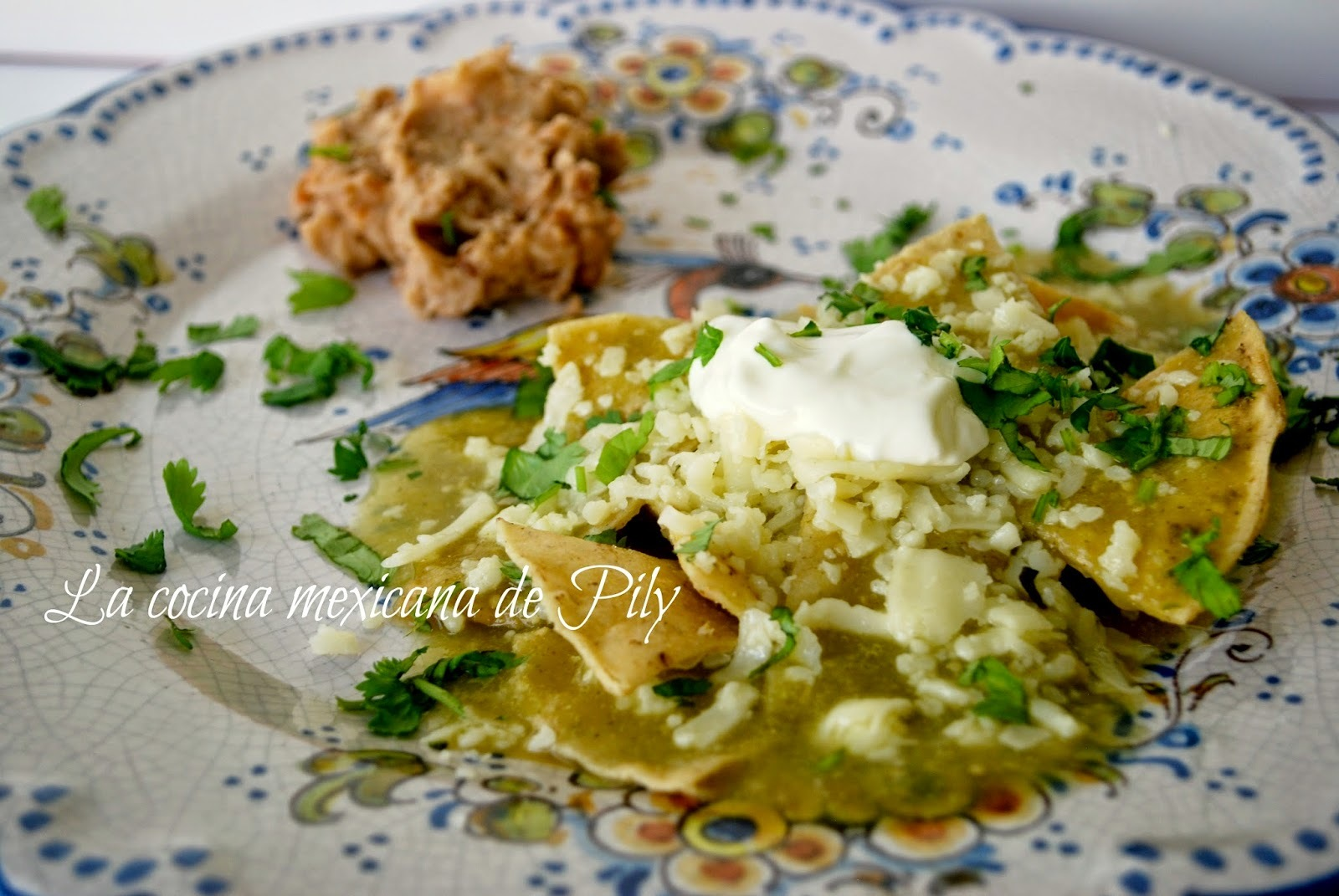 Básicos: tradicionales chilaquiles verdes