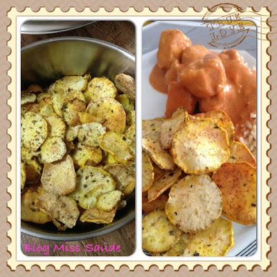 Chips de Batata Doce com Especiarias