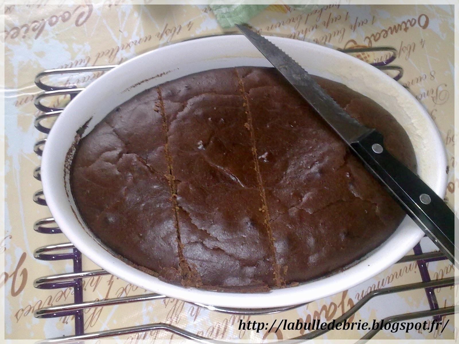 Fondant chocolat noir & dattes
