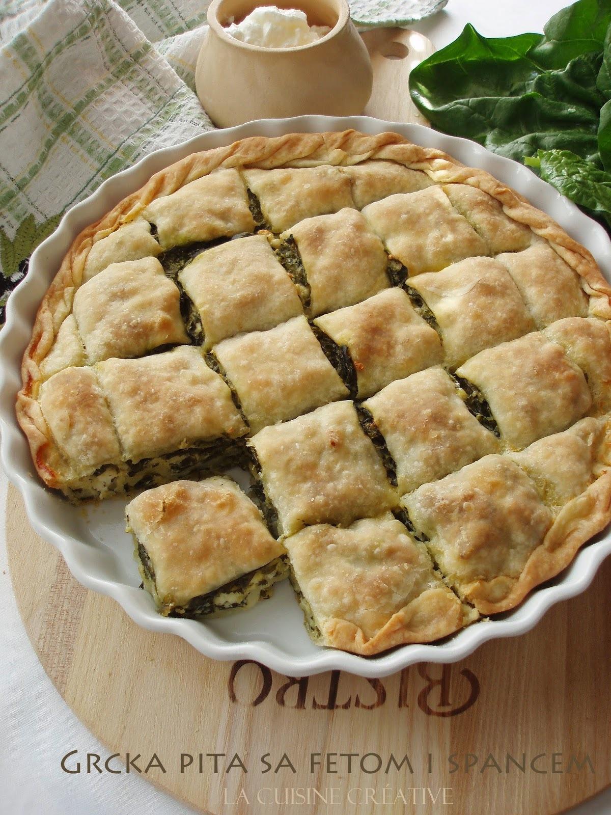 Grčka pita sa fetom i spanaćem