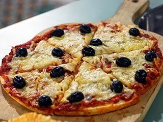 .: Pizza de Liquidificador e Bruschetta Italiana