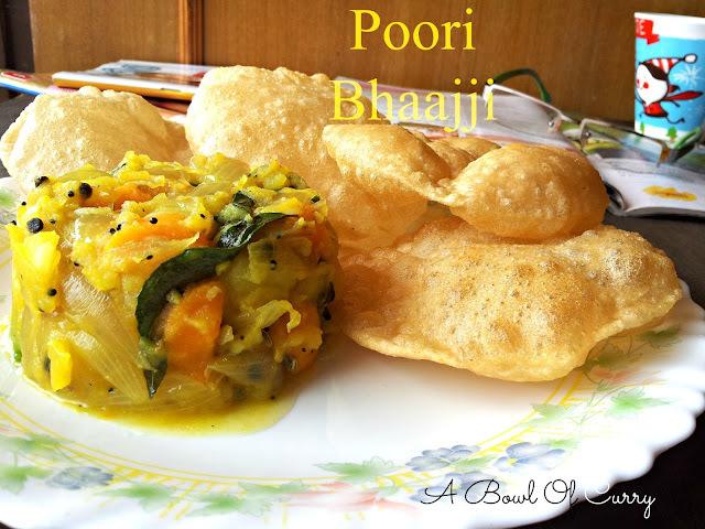 Poori Bajji - Kerala Restaurant Style