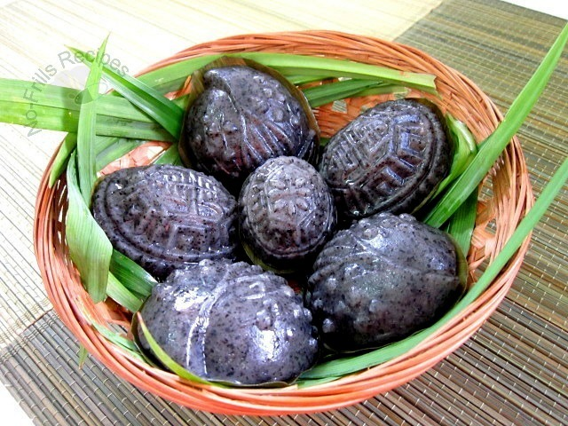 Black Sesame Angku Kuih