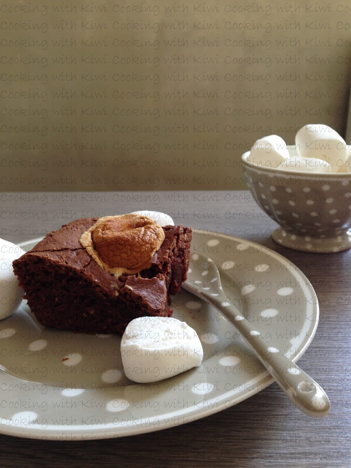 MARSHMALLOWS BROWNIE