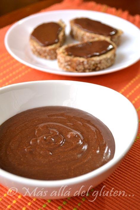 """Nutella"" Casera (Receta GFCFSF,  Vegana)"