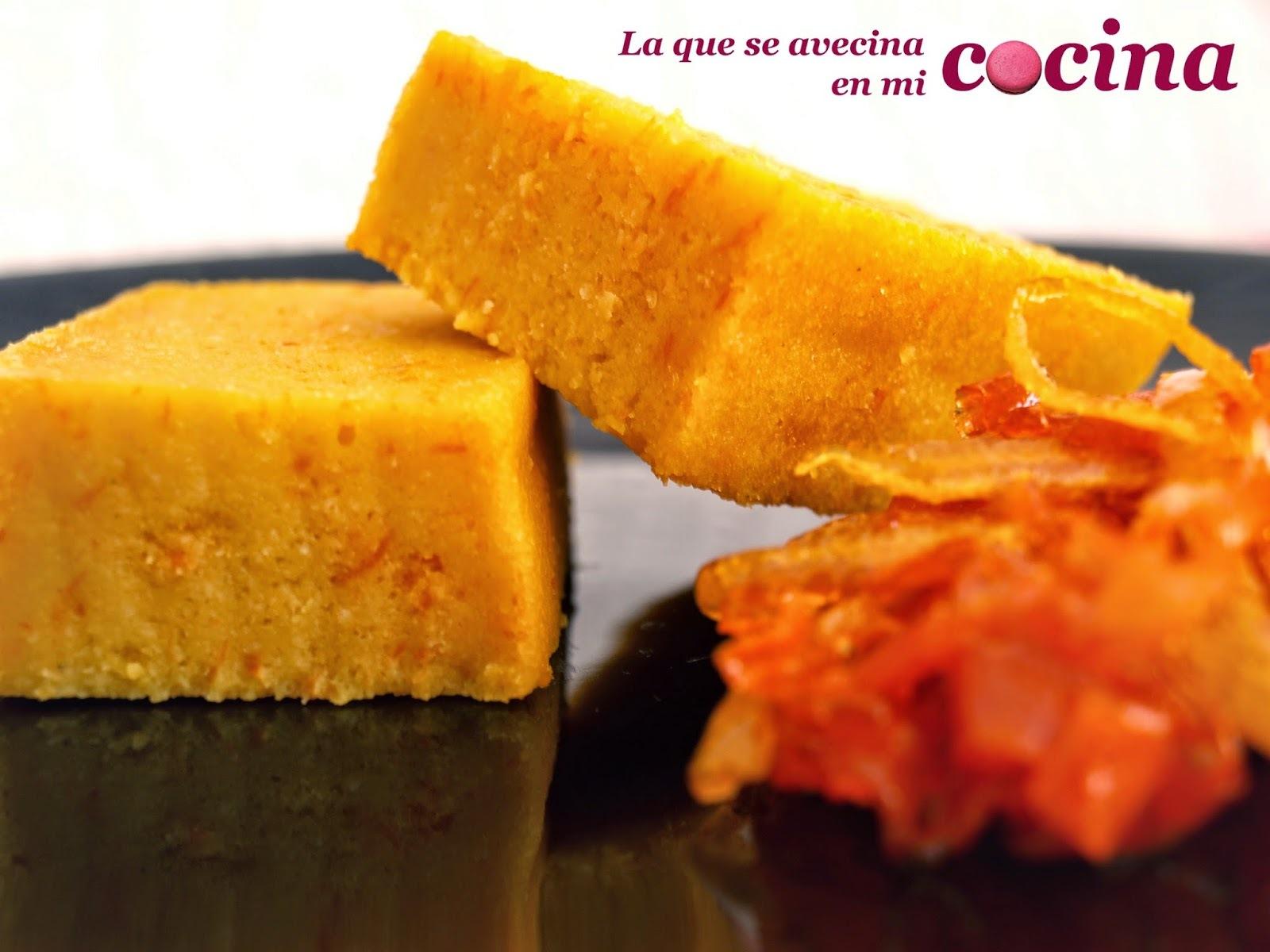 Brownie de Zanahorias.