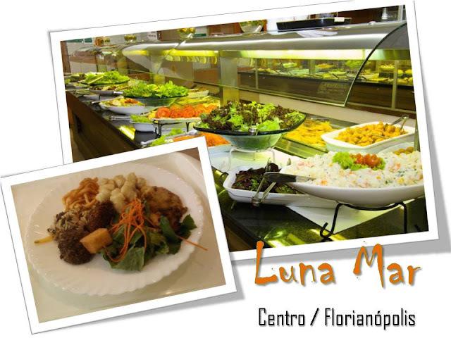 Dica de almoço no Centro de Floripa: Luna Mar