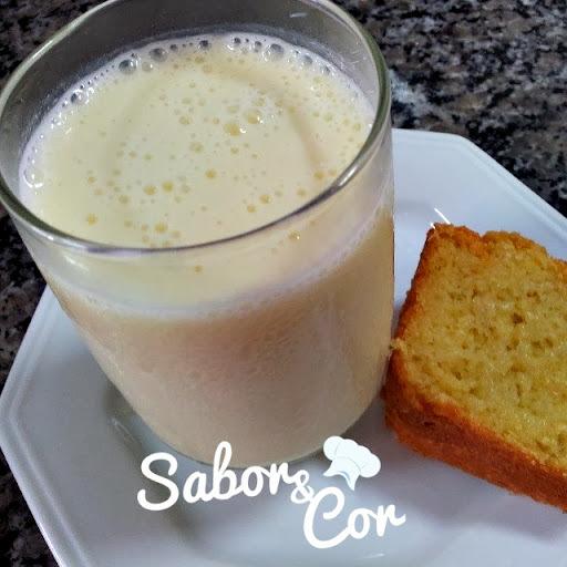 Suco Cremoso de Milho