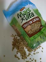 Salada de trigo em grão... É o Prato do Dia!