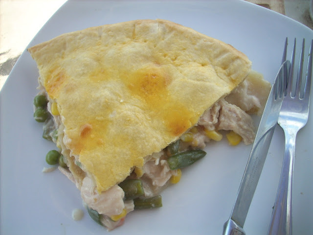 Chicken pot pie  (II)