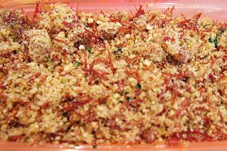 Paçoca - Farofa de Carne de Sol