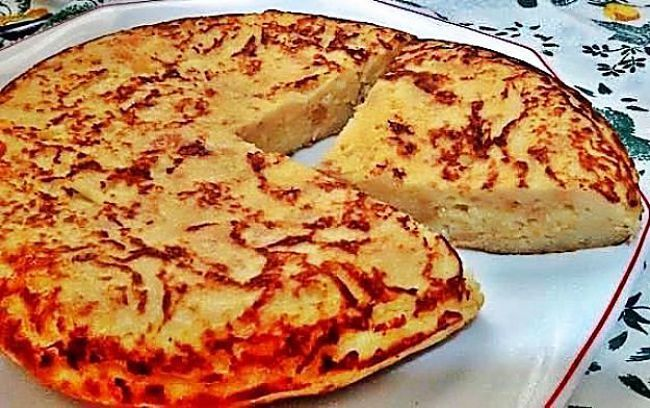Tortilla de pan con queso