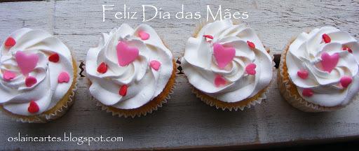 Cupcakes para o dia das Mães