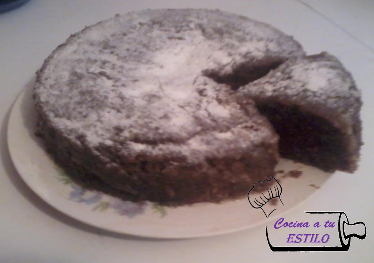 Receta Torta de chocolate en el Microondas
