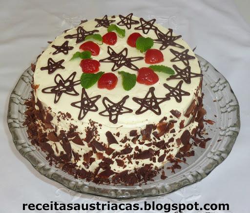 tortas decoradas para o natal