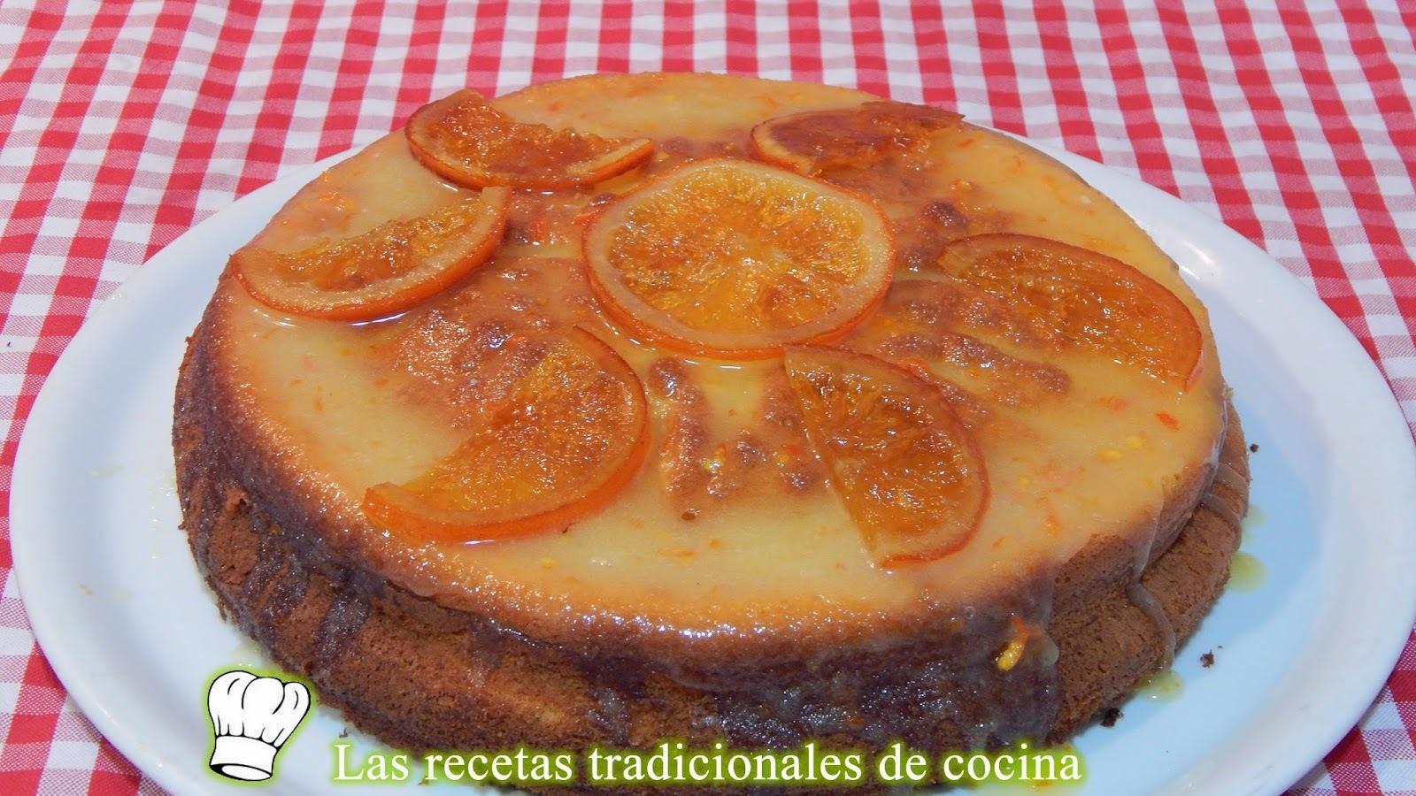 Receta de bizcocho de naranja fácil y esponjoso