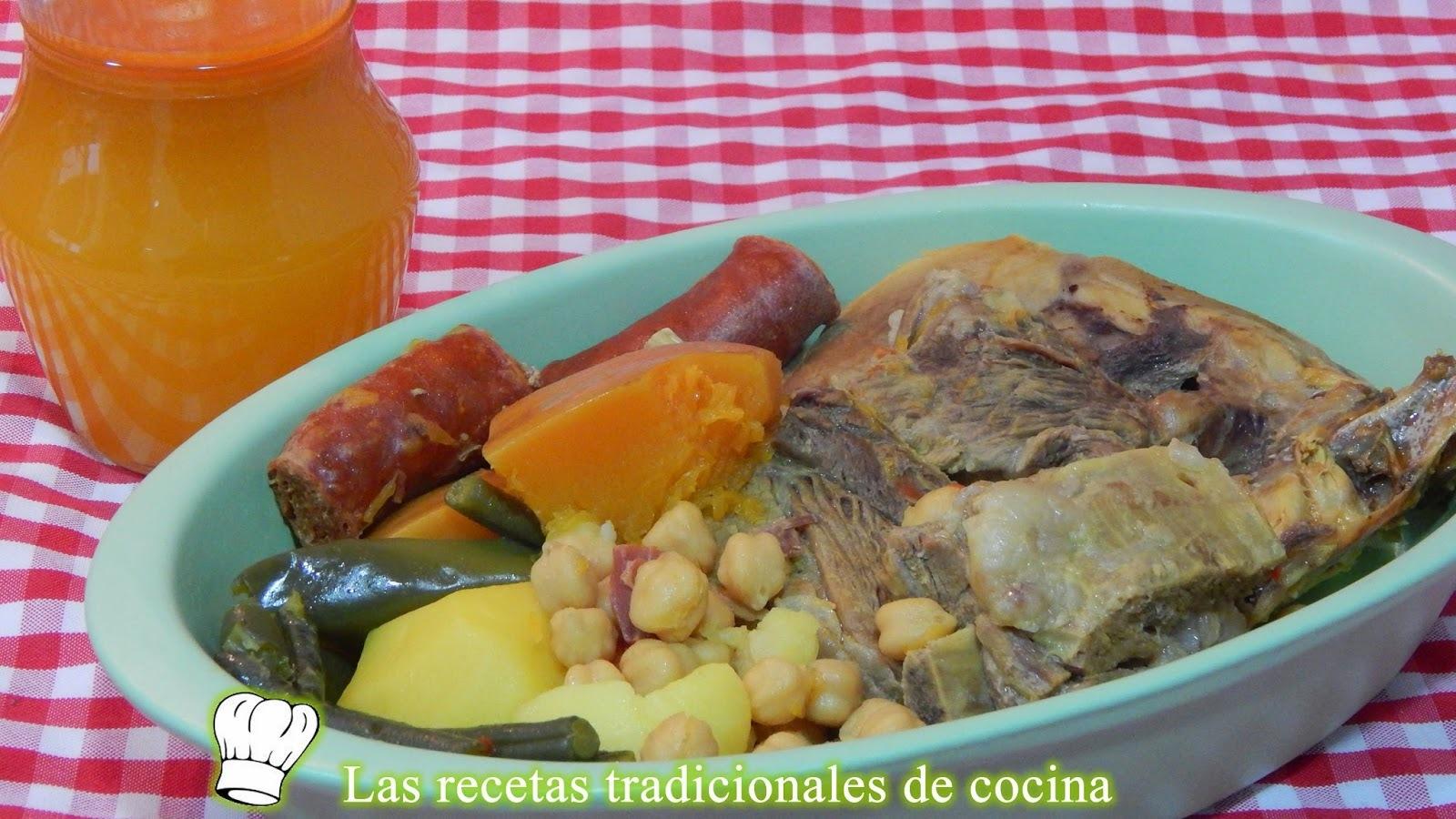 Cómo hacer cocido o puchero Andaluz