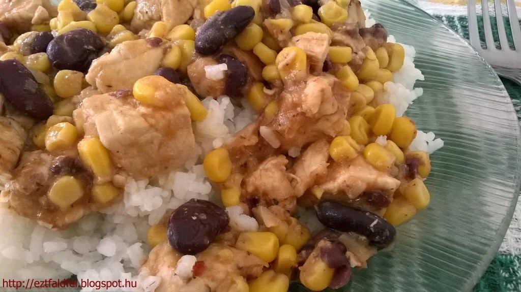 csirkemell mexikoi