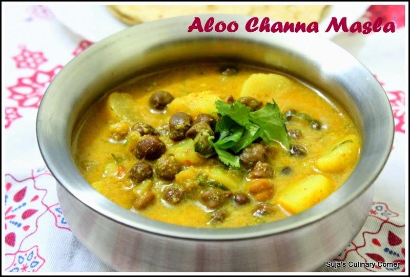 Aloo Channa Masala(Potato chickpeas curry)