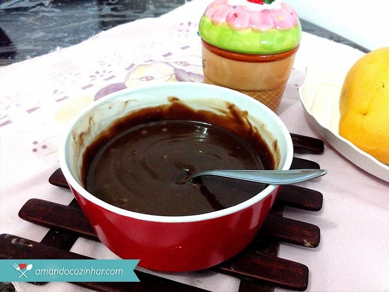 Como fazer Ganache de Chocolate no microondas ou no fogão
