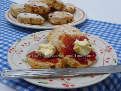 Devon Scones~ A perfect British afternoon  teatime treat