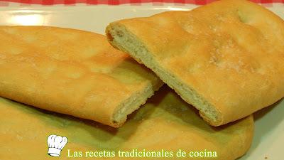 Receta de tortas saladas de pan